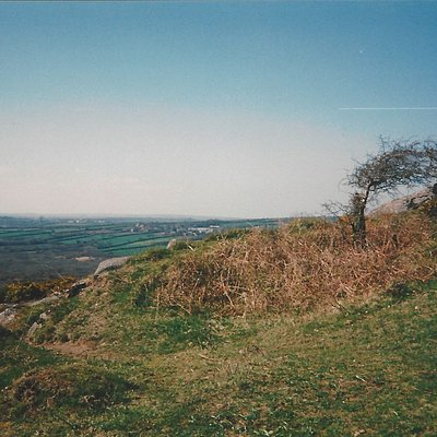 I was up on Helman Tor, on a sunny Easter Monday, Monday 31st March 1997, whilst on holiday with a group of people from Liskeard in   nearby Churchtown Farm.