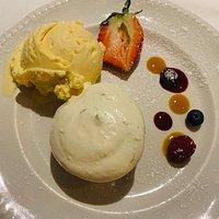 Amerigo Vespucci:  Lemon Lime Cheesecake