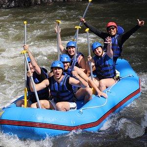 Ayung White Water Rafting Adventure in Northern Part of Ubud