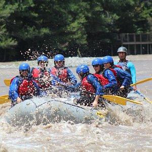 Rafting. Foto tomada por el kayakista