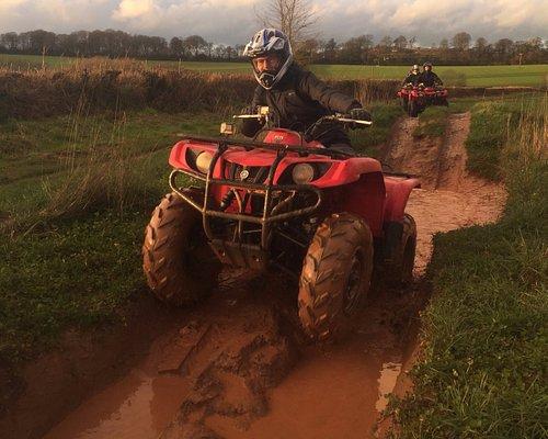 Devon country pursuits quad biking
