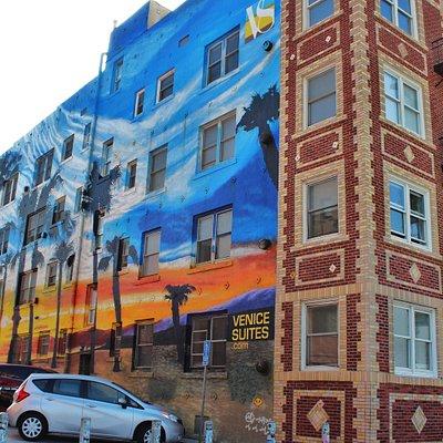 Venice suite mural