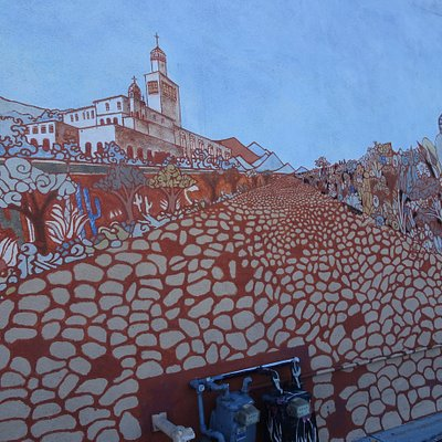 Murals on Artist Alley