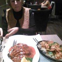 Babi pangang en Tipan met garnalen