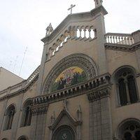 Facciata Chiesa Sacro cuore