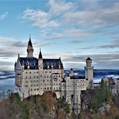 The majestic Neuschwanstein Castle