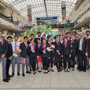 Frankfinn Institute of Air Hostess Training, 2nd Floor MGF Mega City Mall, Gurgaon