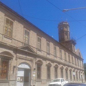 Conjunto Edilicio Salesiano de Viedma (Manzana Històrica): Fachada Externa Ex Colegio San Francisco de Sales- Rìo Negro 2019.