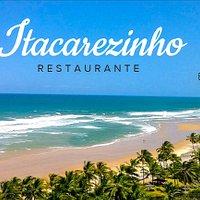 Praia Itacarezinho em frente ao Restaurante