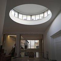 Interni del WEGIL, progettato dall'architetto Luigi Moretti