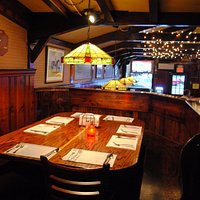 Cozy dining room, reservations for large groups