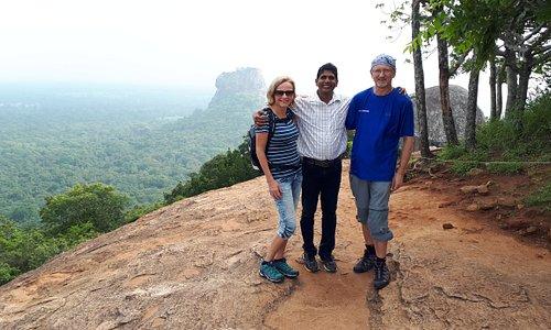 blick zum Sigiriyafelsen