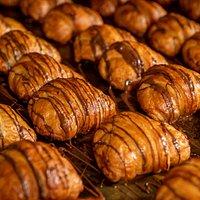 Croissants de chocolate. Foto: Nereu Jr.