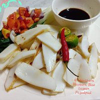Fresh catch from Pagudpud...grilled squid