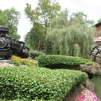 The Dollywood Express and the Grist Mill, home of the world-famous cinnamon bread, are two of Dollywood's favorite attractions.