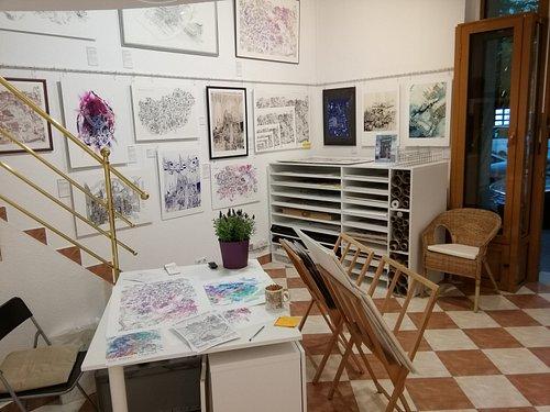Giclée prints, posters, stationery, fridge magnets, postcards