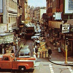 SALEM STREET IN THE 1960'S