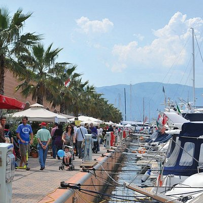 Marina Genova durante Yacht&Garden