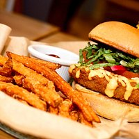 Crispy Shrimp Burger