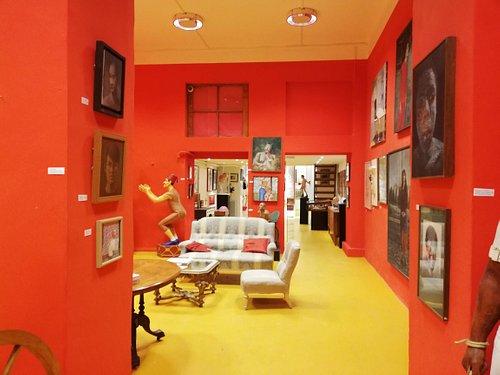 Art room at entrance