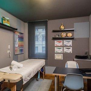 """I nostri Studi all'interno del Centro Massaggi """"I Wish Wellness"""" a Udine, in via Teobaldo Ciconi 22/B."""