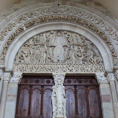 Le tympan de la Cathédrale d'Autun