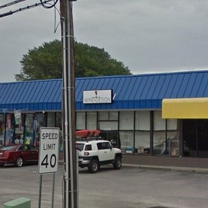 Located in North Myrtle Beach in the shopping plaza with Klig's Kits and Good Fellas Seafood Hut and Bar.