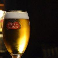 Stella Artois on tap!