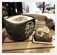 Try Ecuadorian tea, like a Cacao Latte, or  vegan/gluten-free banana bread.  Enjoy Otavalo, Enjoy yourself.