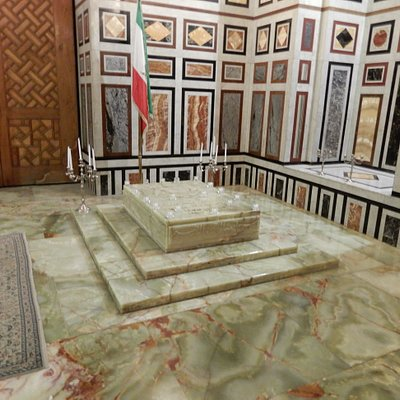 Marble tomb of the last Shah of Iran