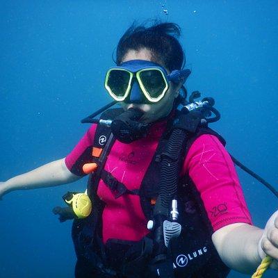 Scuba diving with Samudra Adventures