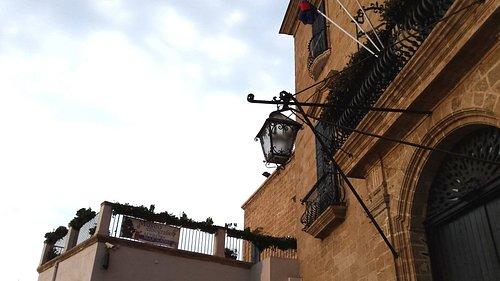 Palazzo Pantaleo, facciata.