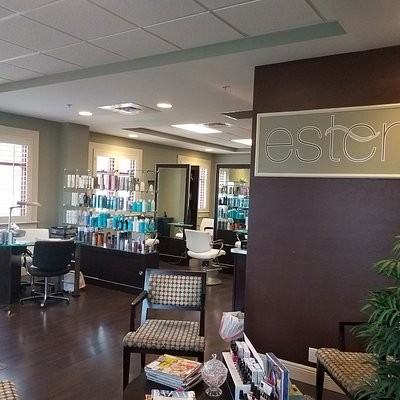 Esterra Salon also offers manicures and pedicures and stylish hair cuts