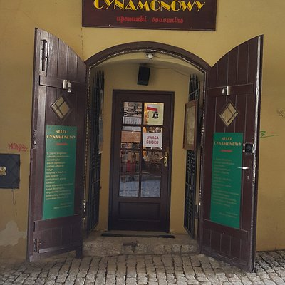 Wejście w bramie