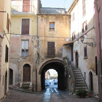 Porta Sant'Agata dall'interno