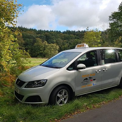 Dod's 6 seater Seat Alhambra set in the beautiful Scottish Borders