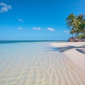 Crystal clear water of Balabac Island