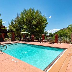 The Pool at the Las Posadas of Sedona