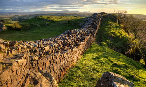 Hadrian's Wall is within easy reach by foot, by bike or by car