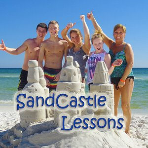 SandCastle Lessons are the answer: Looking for a family activity everyone will love? Everyone will love this sand castle experience.