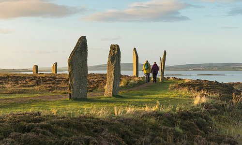 One of the finest stone circles in the world: the Ring of Brodgar! 🙌✨