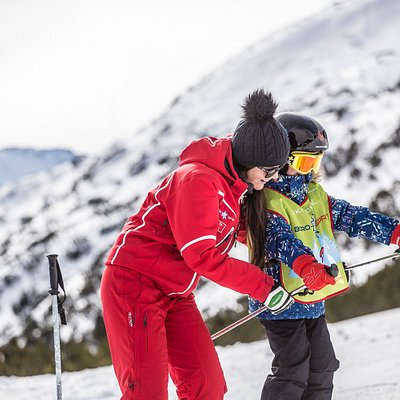 Our ski-instructors are very friendly and careful.