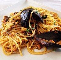 Spaghetto con i moscioli