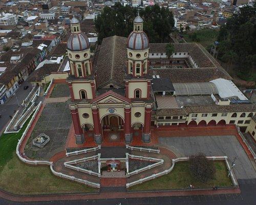frente del templo de santiago