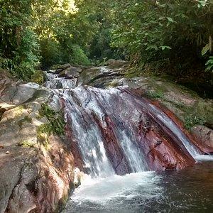 Segunda Cachoeira - tobogã natural