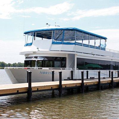 Gull Lake Cruises dockside.