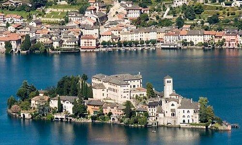 Lake Orta Orta S.Giulio