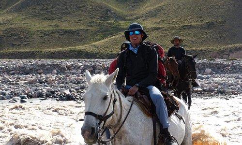 Cruce de los Andes Rio Tunuyan !