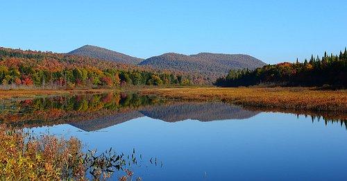 Beautiful Scenery of the Adirondack Mountains