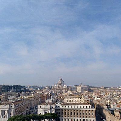 Vistas desde Castillo Sant Angelo del Vaticano